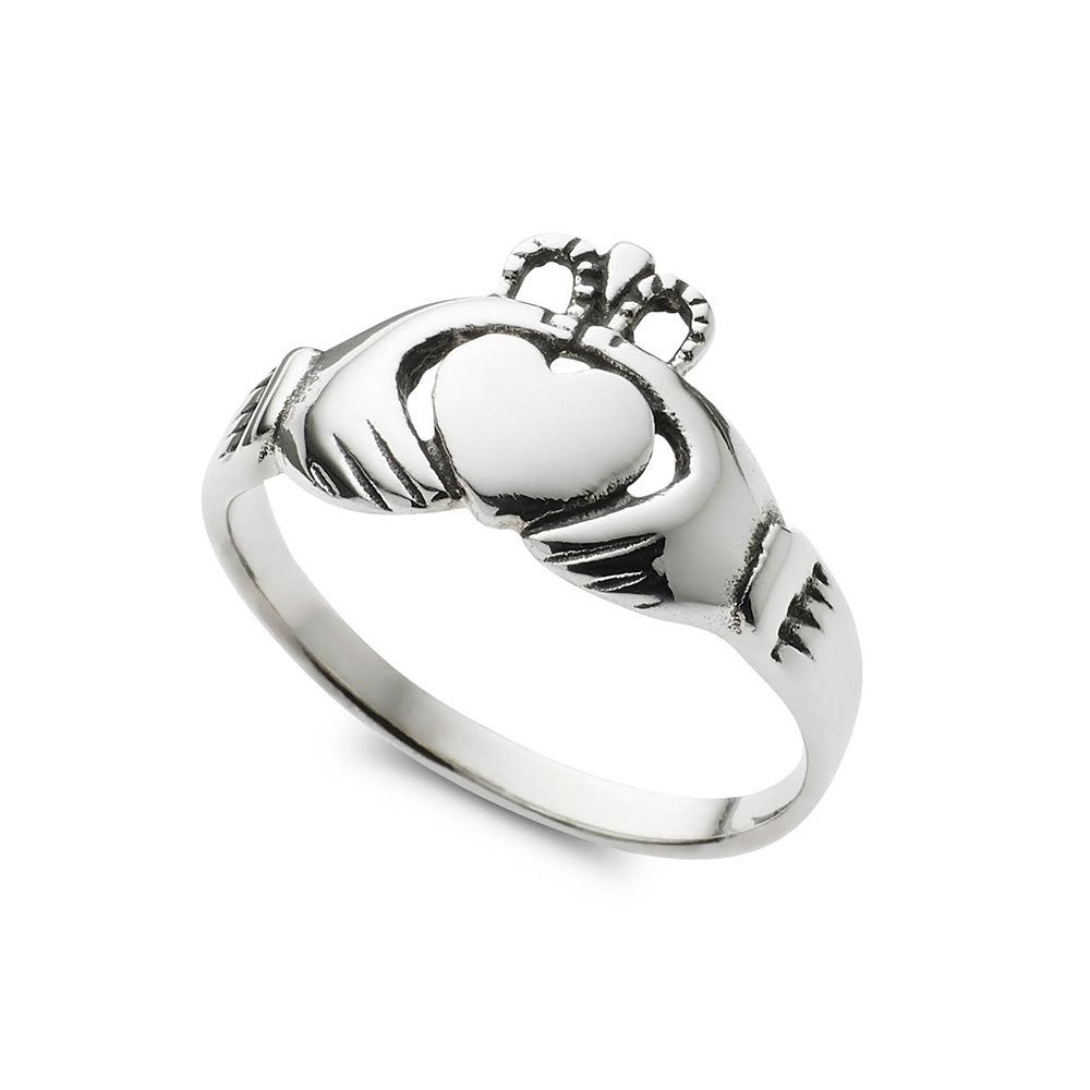 Sterling Silver 'Claddagh' Ring