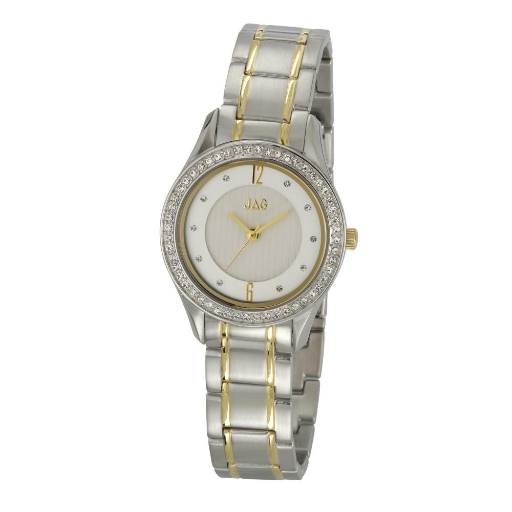 JAG 'Giselle' Stainless & GP 2 Tone Ladies Watch - gsmshop.com.au
