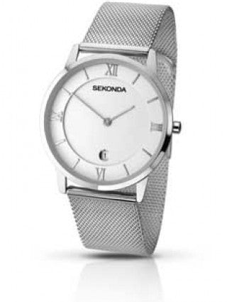 Sekonda Gents Stainless Mesh Band Watch