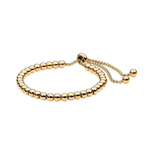 Ellani Stainless Steel Ball Bracelet