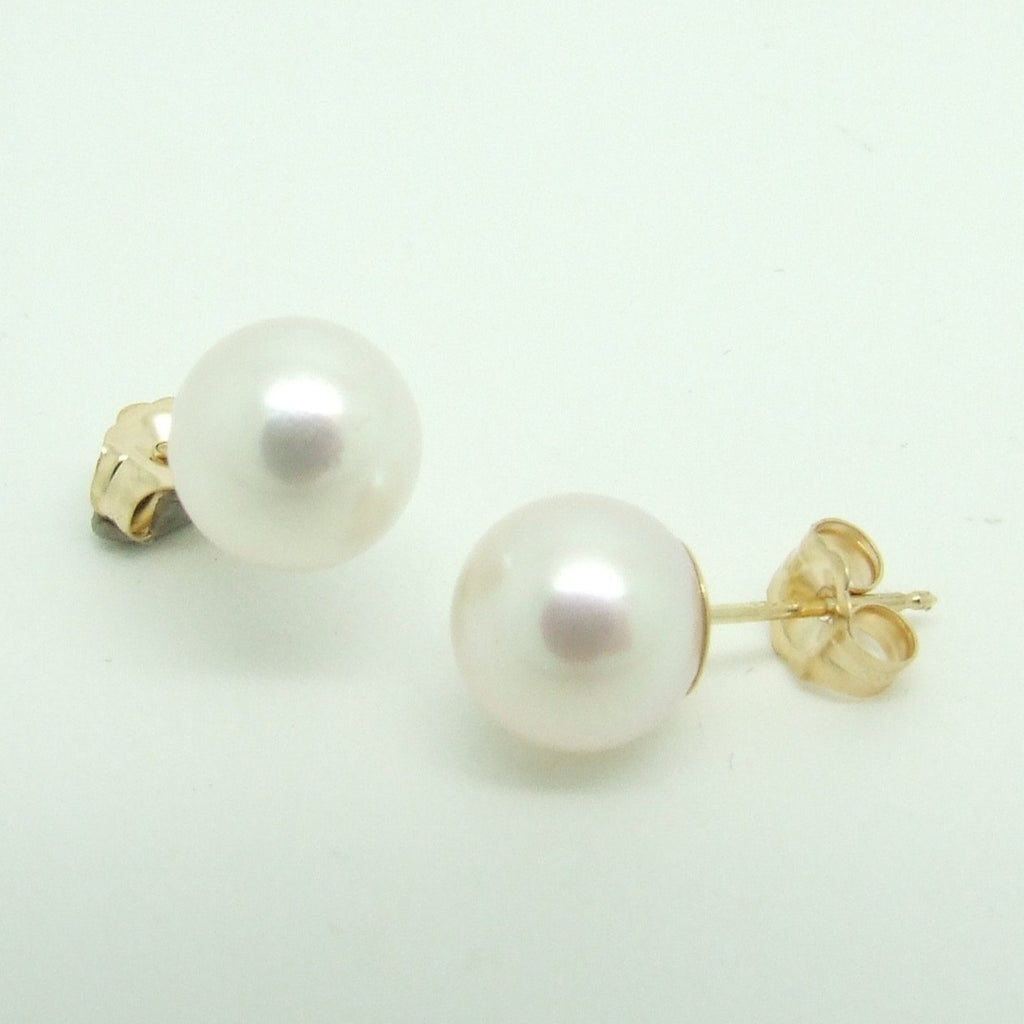 Akoya 9ct Pearl Stud Earrings