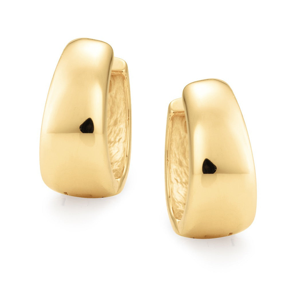 Mark McAskill 9ct Tappered Huggie Earring.