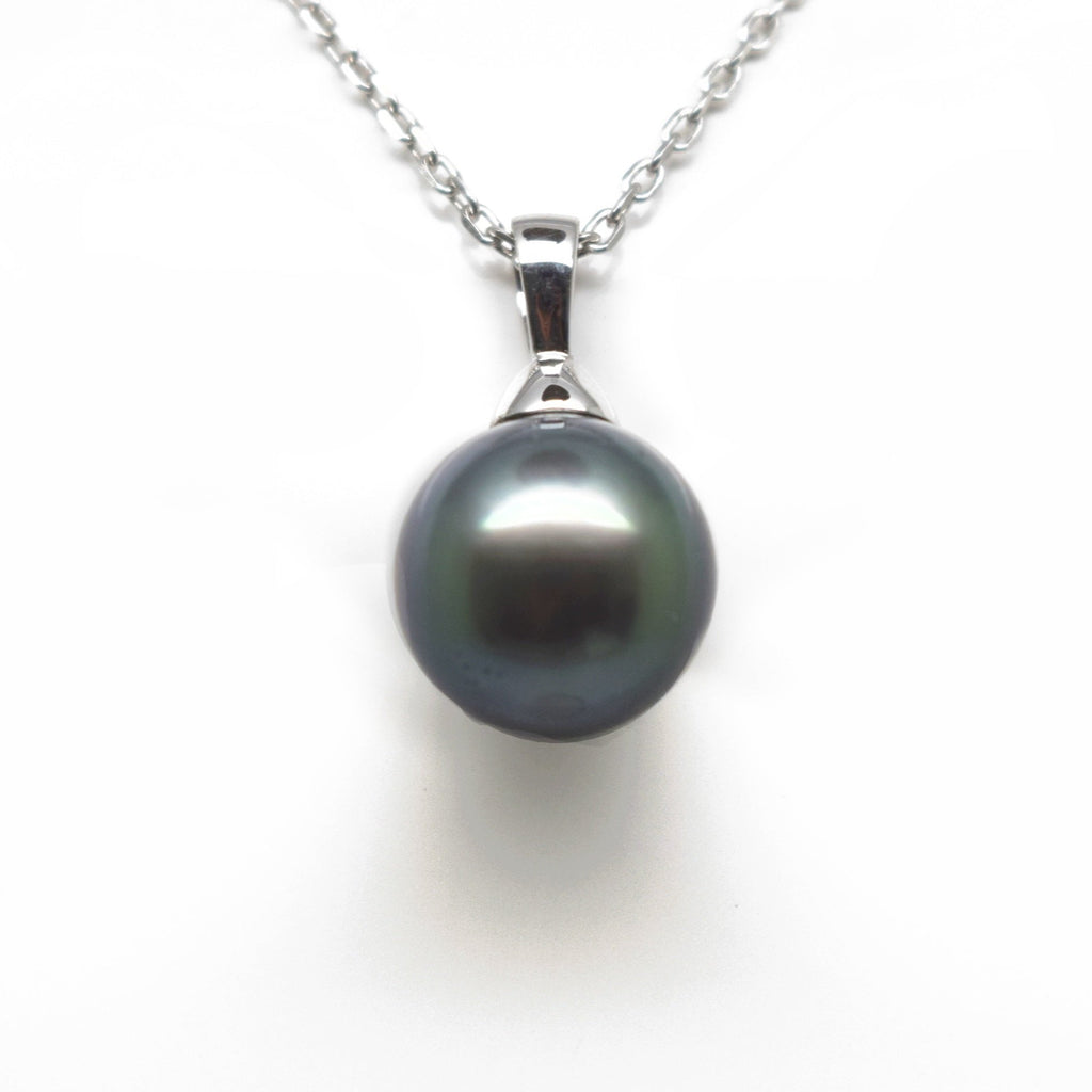 18ct White Gold Tahition Pearl Pendant
