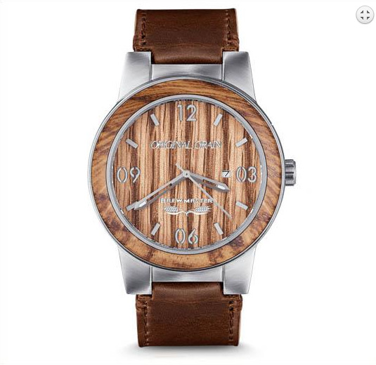 'Original Grain' Brewmaster/Leather 47mm