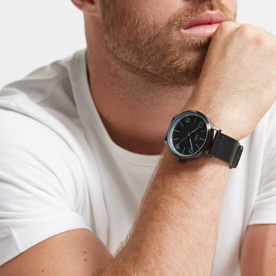 JAG 'Mitchell' Blk/Gry Mens Watch - gsmshop.com.au