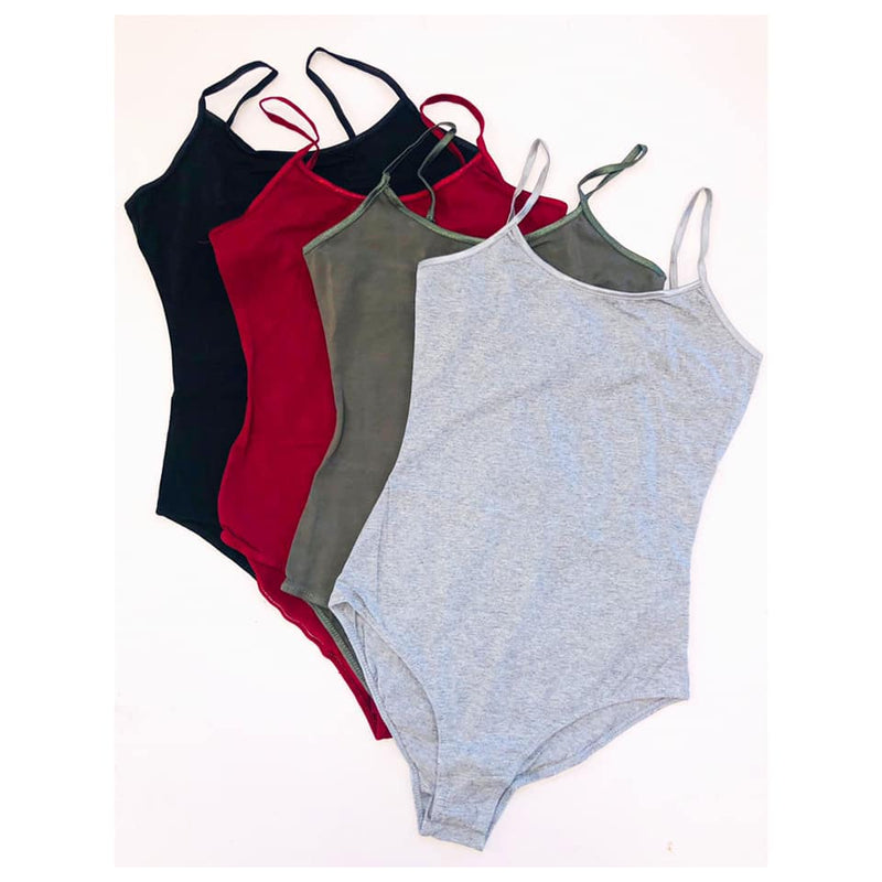 Adjustable Cotton Bodysuit