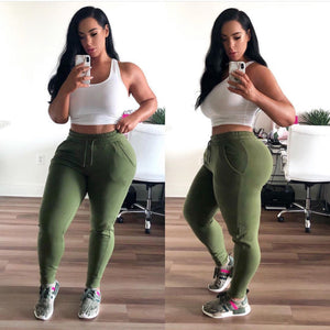 Sexy, Casual Cotton Joggers