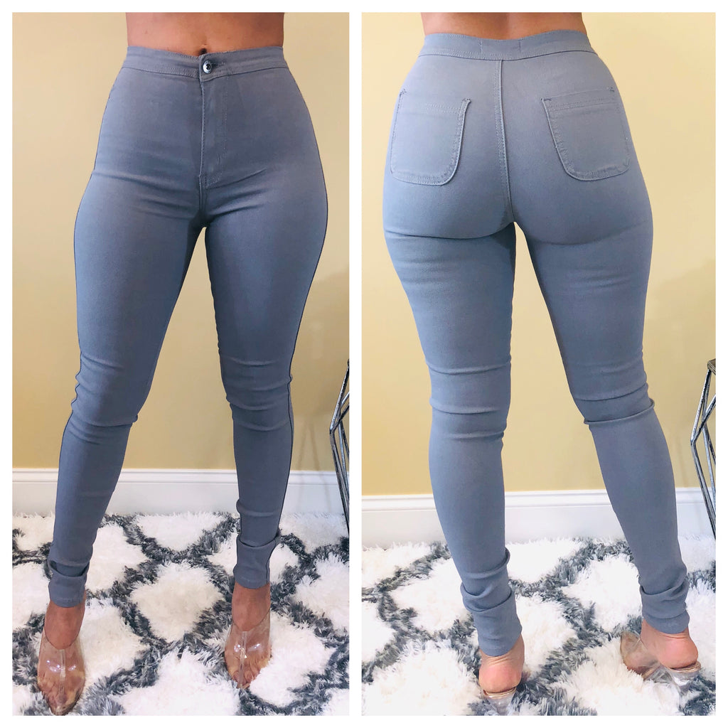 Super High Waist Stretchy Skinnies