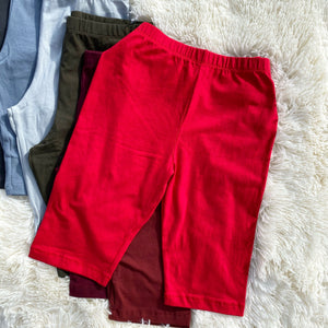 Cotton High Waist Shorts II