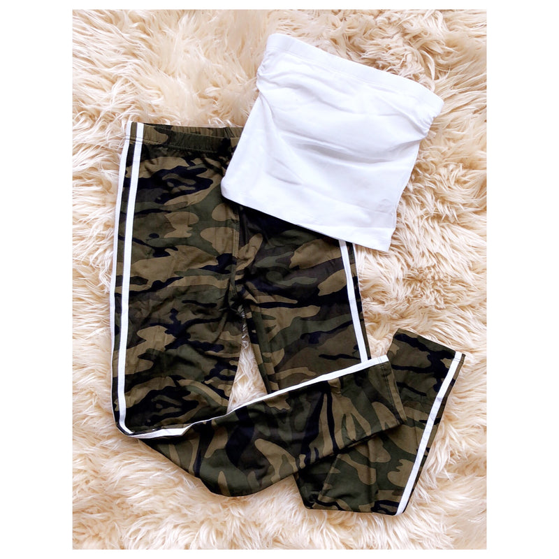 Keeping It Casual Camouflage Leggings