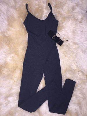 Strappy Cotton Jumpsuit