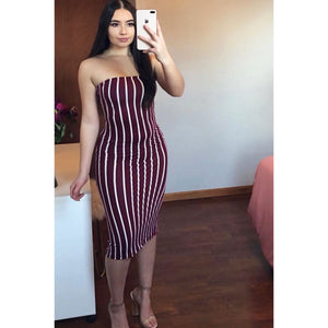 Essential Stripes Tube Dress