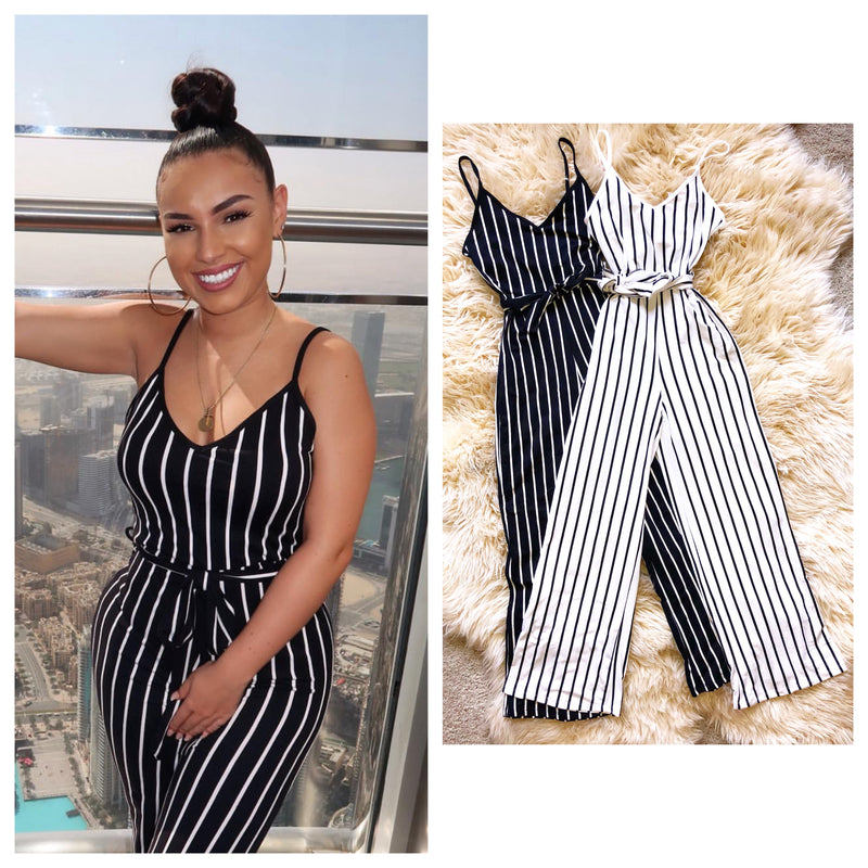 Essential Belted Movement Jumpsuit