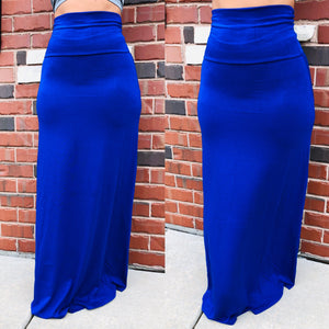 Feel The Flow Maxi Skirt