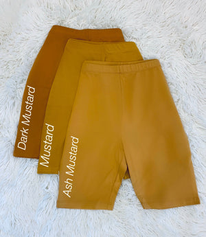 Cotton High Waist Shorts
