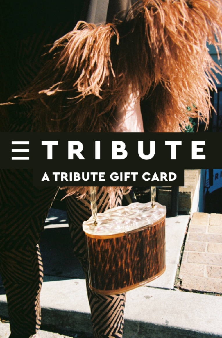 A Tribute gift card
