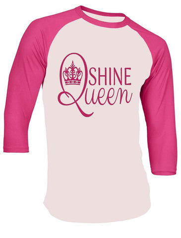 SHINE Queen Baseball Jersey