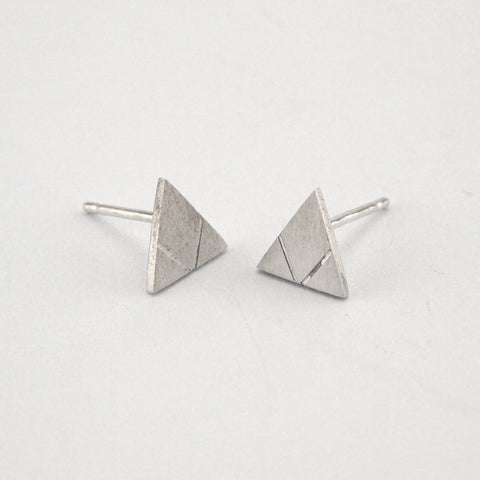 Love Triangle Earring Set | Sterling Silver