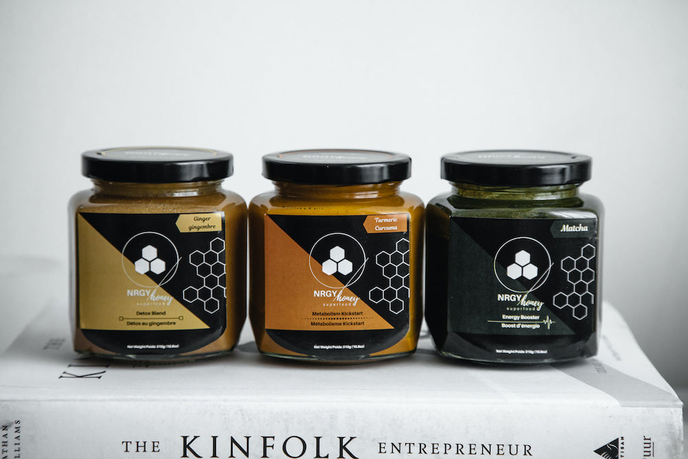 Subscribe to monthly deliveries of NRGY Honey | Raw Honey Canada