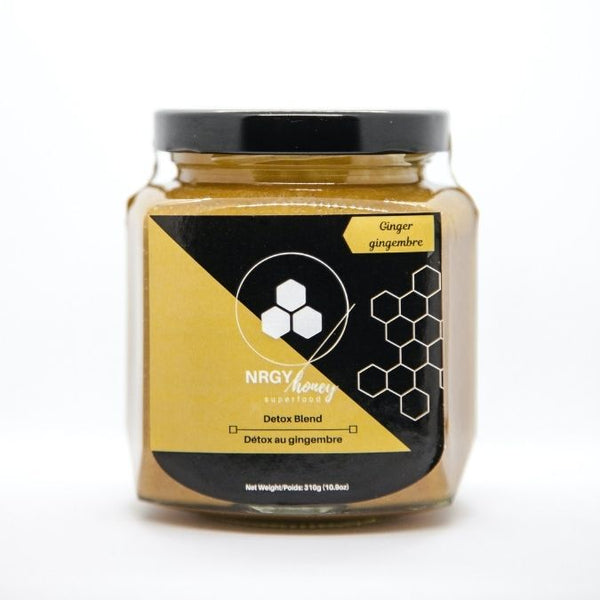 NRGY Honey Ginger Detox Blend