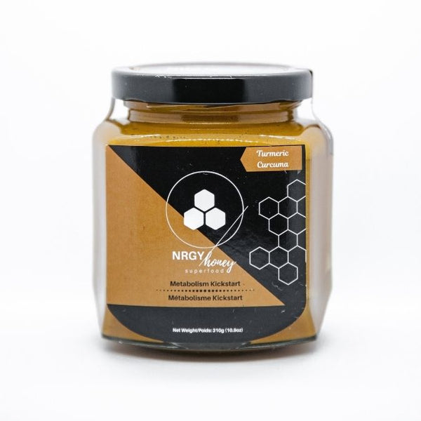 NRGY Honey Turmeric Metabolism Kickstart