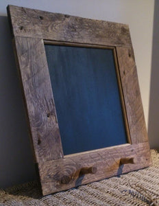 Rustic solid pine hand made chalk board