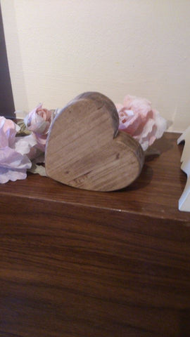 Solid wood Heart