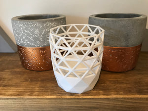 Geometric vase , storage pot home decor accessories
