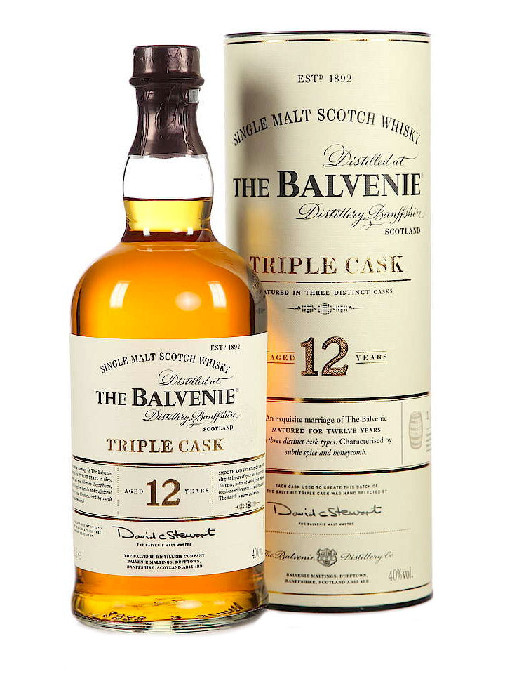 Balvenie 12 Year Old Triple Cask Single Malt Scotch Whisky 1L