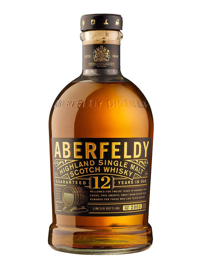 Aberfeldy 12 Year Old Single Malt Scotch Whisky 750mL