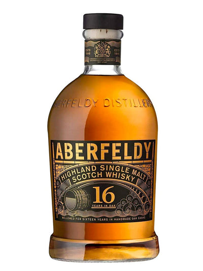 Aberfeldy 16 Year Old Single Malt Scotch Whisky 1L