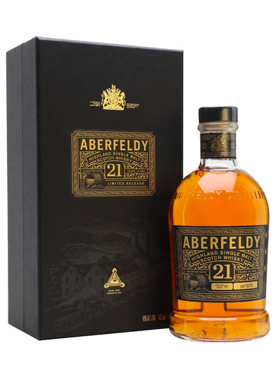 Aberfeldy 21 Year Old Single Malt Scotch Whisky 750mL