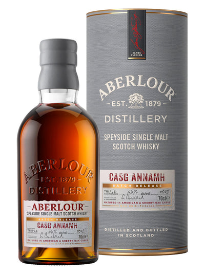 Aberlour Casg Annamh Batch 0001 Speyside Single Malt Scotch Whisky 700mL