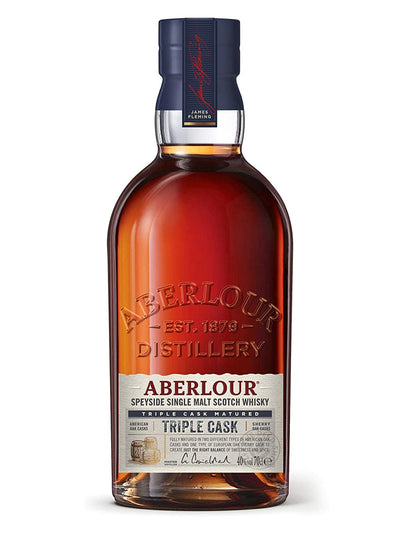 Aberlour Triple Cask Single Malt Scotch Whisky 700mL