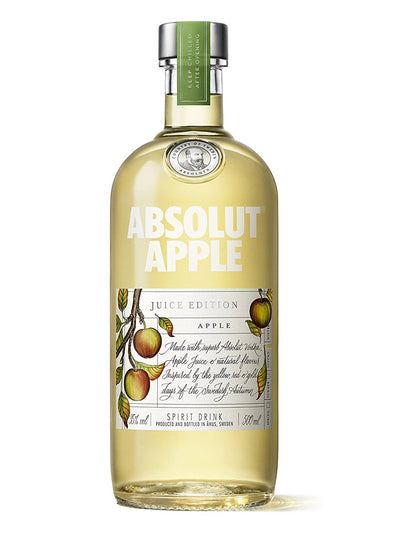 Absolut Juice Apple Edition Swedish Vodka 750mL