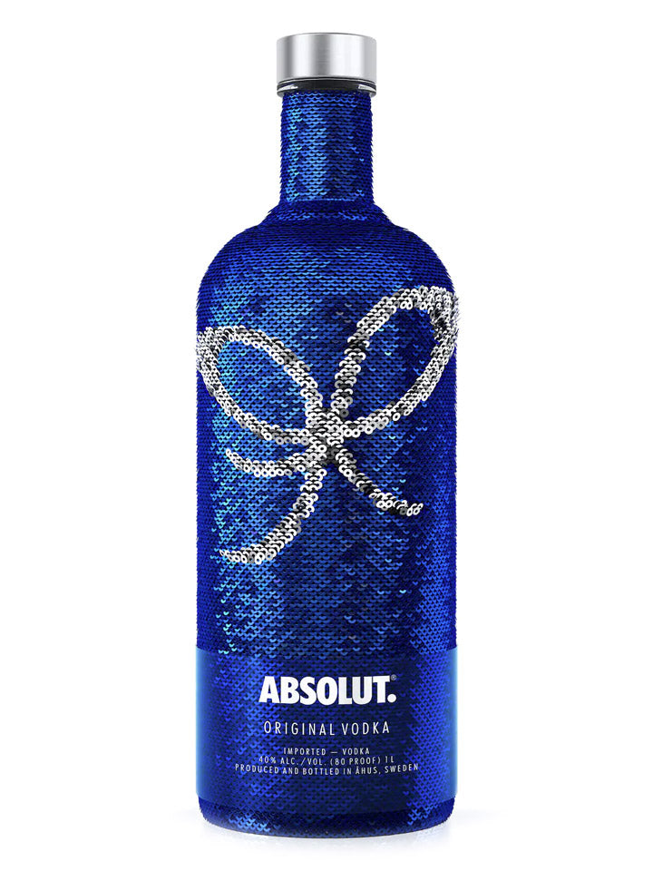Absolut Sequin Limited Edition 2017 Swedish Vodka 1L