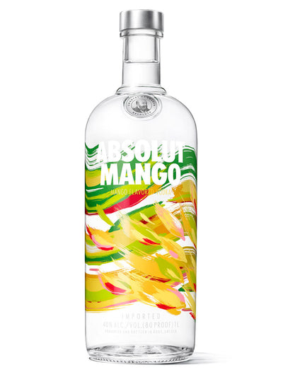 Absolut Mango Flavoured Swedish Vodka 1L