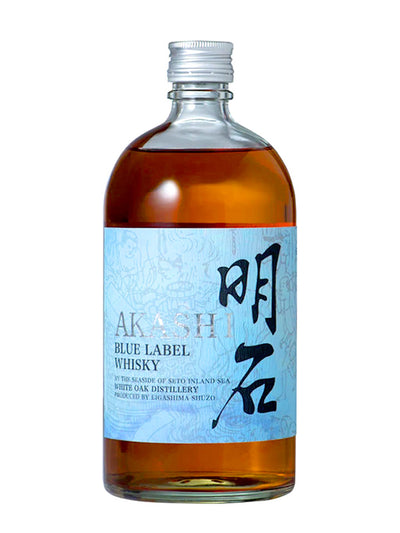 Akashi White Oak Blue Label Blended Whisky 700mL