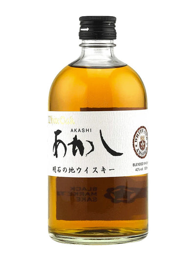 Akashi White Oak Black Label Blended Whisky 500mL