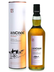AnCnoc 12 Year Old Single Malt Scotch Whisky 700mL