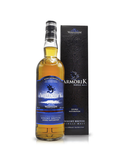Armorik Double Maturation Single Malt French Whisky 700mL