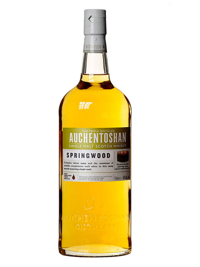 Auchentoshan Springwood Single Malt Scotch Whisky 1L
