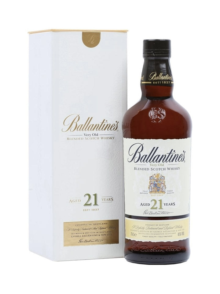 Ballantines 21 Year Old Blended Scotch Whisky 700mL