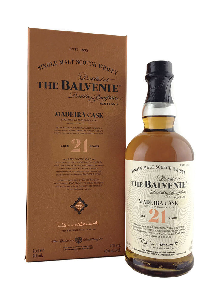 Balvenie 21 Year Old Madeira Cask Scotch Whisky 700ml
