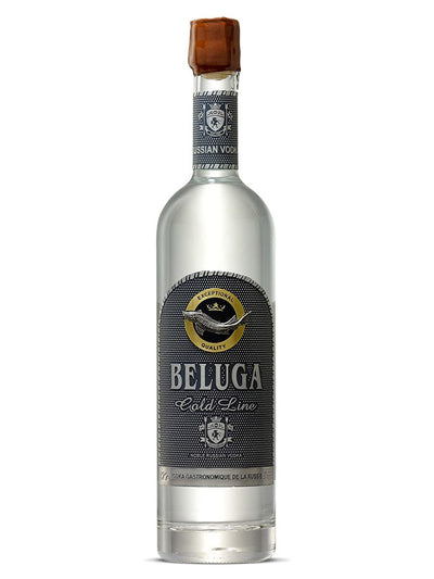 Beluga Gold Line Limited Edition Russian Vodka Leather Gift Box 700mL
