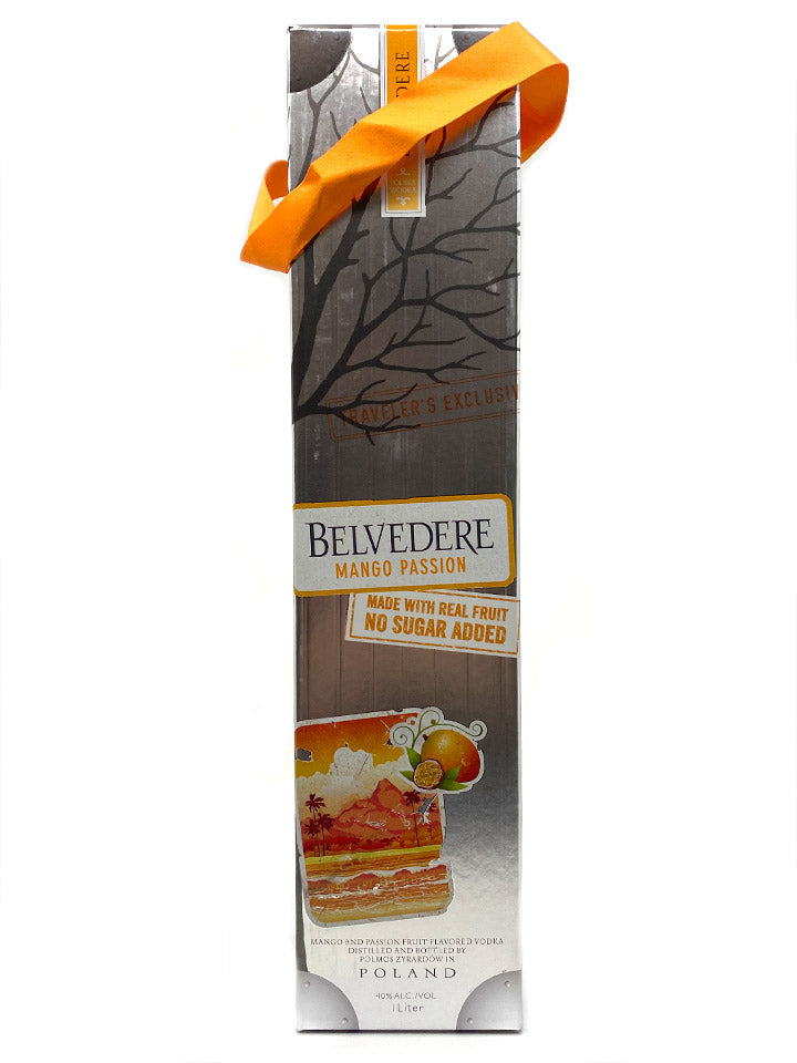 Belvedere Mango Passion With Gift Box Mango Flavoured Vodka 1L