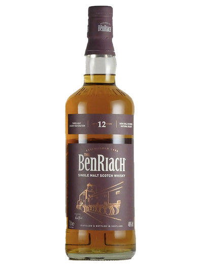 Benriach 12 Year Old Sherry Wood Finish Scotch Whisky 700mL