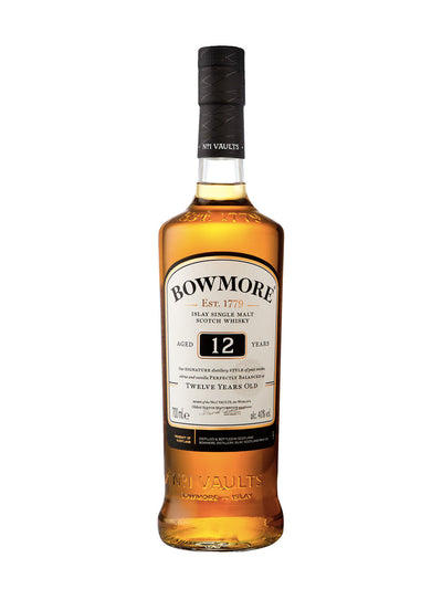 Bowmore 12 Year Old Single Malt Scotch Whisky 700mL