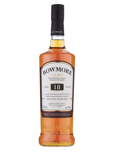 Bowmore 18 Year Old Islay Single Malt Scotch Whisky 700mL