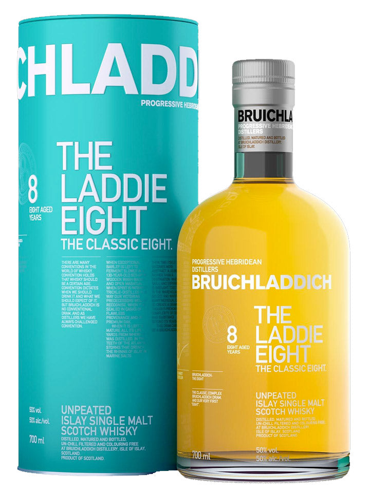 Bruichladdich The Laddie Eight 8 Year Old Single Malt Scotch Whisky 700mL